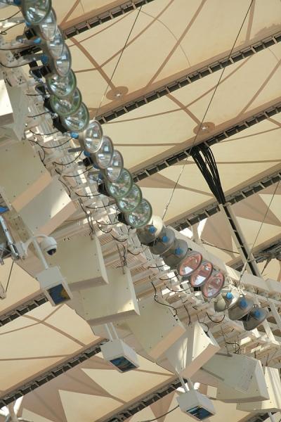 Элементы системы озвучивания НСК «Олимпийский»