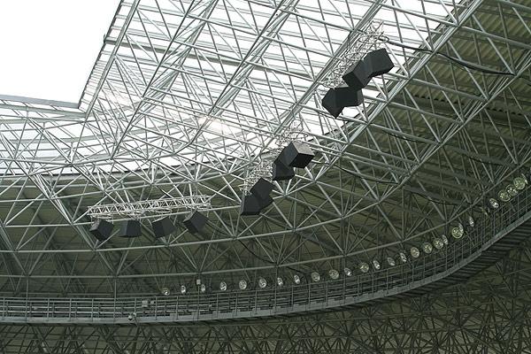 Элементы системы озвучивания стадиона